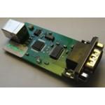 Конвертер USB в COM port, организован на FT232