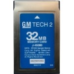 GM Tech2 32MB PCMCIA Card