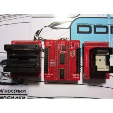 Переходники - SOP44 , Tsop 48  и оснавная плата для программатора Mini Pro TL866A (CS).