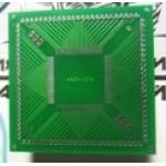 Плата TQFP 80 - адаптер для программирования