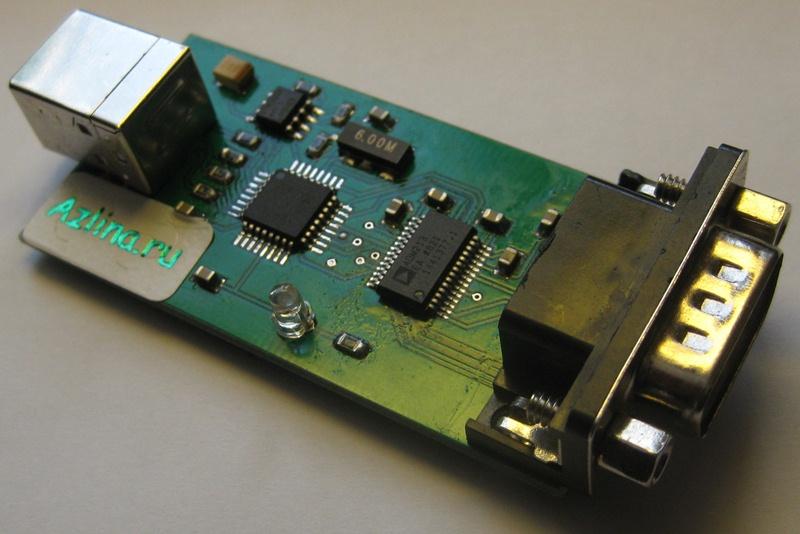Конвертер USB в COM port,