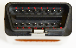 Tactrix Openport 2.0 Connector Pinout